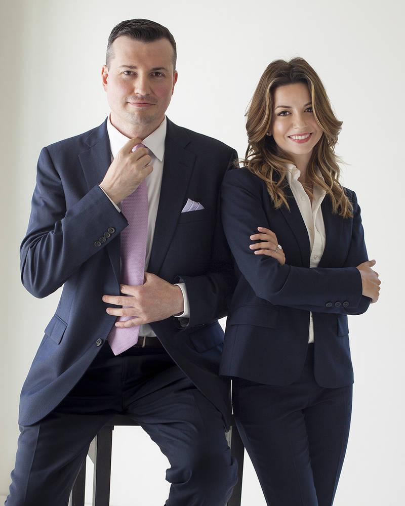 Ervin Peter and Masiela Lusha