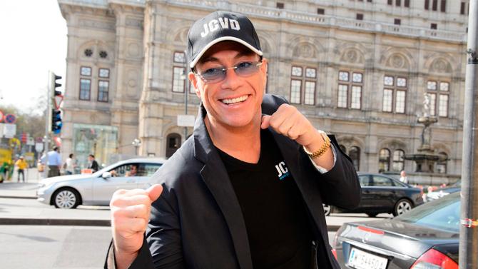 Mandatory Credit: Photo by Rainer Eckharter/REX/Shutterstock (2298639b) Jean-Claude Van Damme Jean-Claude Van Damme in Vienna, Austria - 16 Apr 2013 At Hotel Bristol