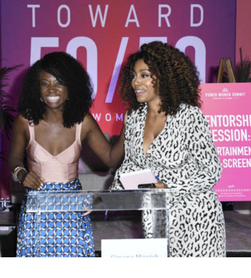 Natasha Ofili Shines Bright as a Guest Mentor at TheWrap Power Women Summit