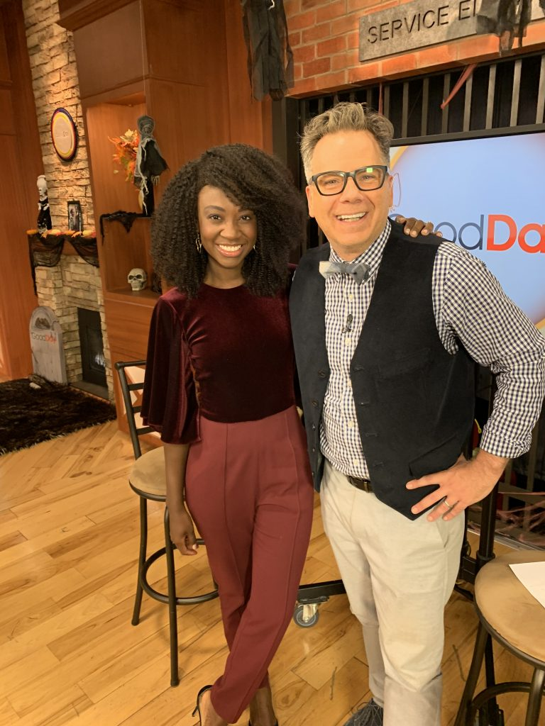 "Natasha Ofili, Renowned Deaf Actress from ""The Politician,"" Interviewed on ""Good Day Sacramento"""